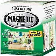 Rust-Oleum Magnetic Primer-Gray Quart