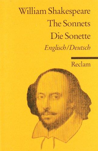 The Sonnets/ Die Sonette [Zweisprachig]