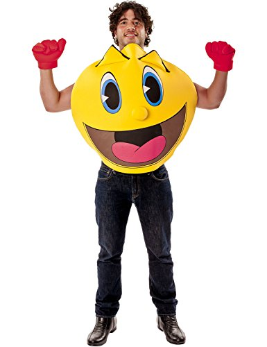 Deluxe Adult Pac Man Costume.