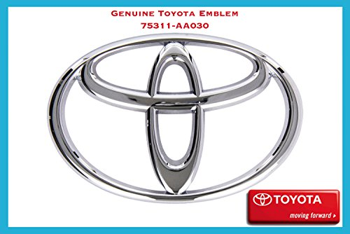 Toyota Emblem - 75311-AA030 / Fits *2003-2006 Camry* - *2003-2008 Corolla* - *2003-2008 Matrix* (Toyota Camry Emblem Front Grill compare prices)