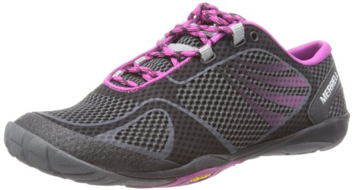 Merrell Women's Pace Glove 2 Running Shoe,Black,8.5 M US