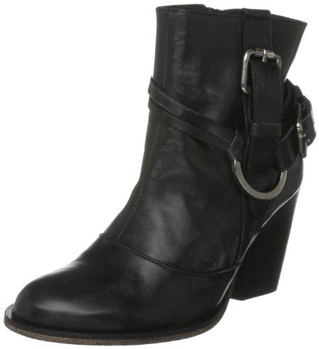Pied A Terre Women's Ojo Black Ankle Boots A11L/Le10/Lbc0218 4 UK