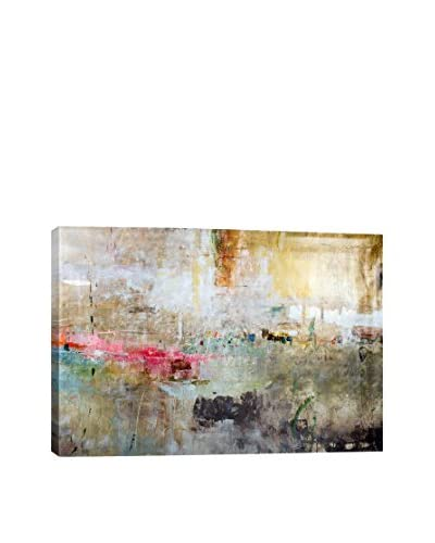 Julian Spencer Rain Clouds Gallery Wrapped Canvas Print