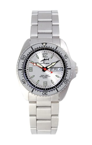 Chris Benz One Medium CBM-SI-SI-MB Unisex Diving Watch