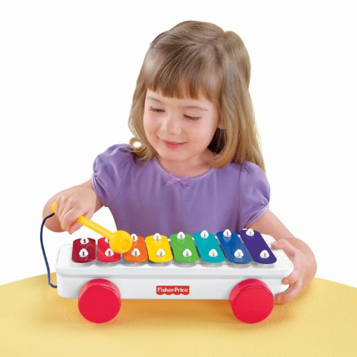 Fisher-Price Brilliant Basics xilófono Clásico