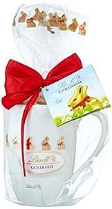 Lindt & Sprüngli Mini-Goldhase in Porzellan Tasse, 1er Pack (1 x 100 g)