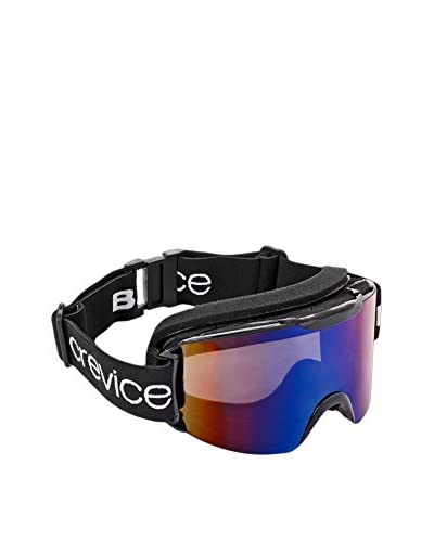 Black Crevice Máscara de Esquí Negro / Azul Única