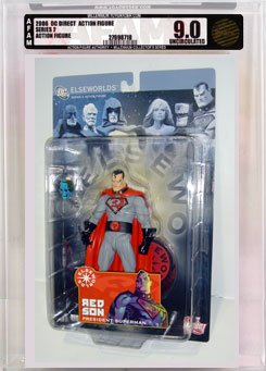 Picture of AFA Elseworlds 2: Red Son President Superman Action Figure AFA Millennium 9.0 (B000RY8C3G) (Superman Action Figures)