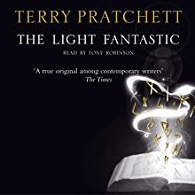 The Light Fantastic: Discworld 2 (       UNABRIDGED) by Terry Pratchett Narrated by Nigel Planer