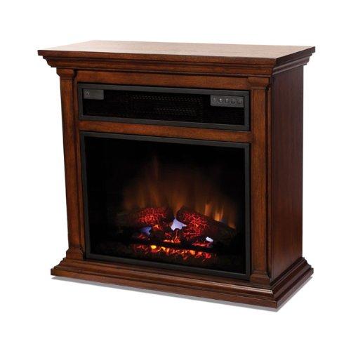 Heat Storm HS-1500-FEM Emerson Infrared Quartz Electric Fireplace, Walnut, 1-Pack picture B009YZLKSI.jpg