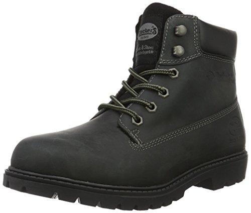 dockers-by-gerli-herren-19pa140-400100-combat-boots-schwarz-schwarz-100-43-eu