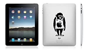 iPad decal sticker Banksy Monkey Bilboard cover for Apple Tablet
