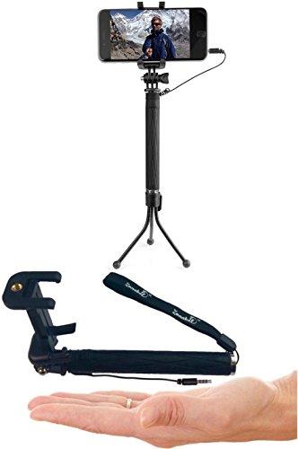 zonabel selfie stick mini best monopod with bluetooth remote tripod. Black Bedroom Furniture Sets. Home Design Ideas