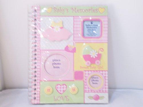 Small Wonder Memory Book Pink Gingham - 1