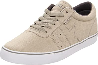 Dekline Men's Archer Athletic,Bone/Grey Monks Canvas,10 D (M) US