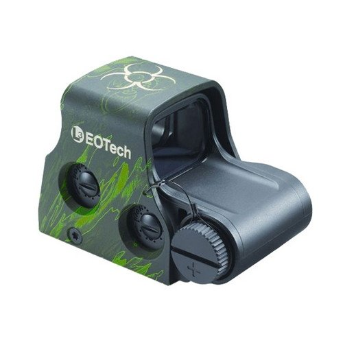 Eotech Z2 Zombie Stopper Red Dot Holographic Sight, Z Pattern Biohazard Reticle, Z Eotxps2Z2