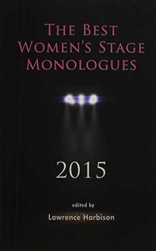 Image for publication on The Best Women's Stage Monologues 2015
