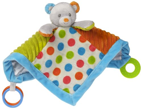 Mary Meyer Confetti Activity Blanket, Teddy - 1
