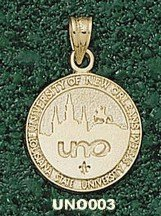 Univ Of New Orleans Seal Charm/Pendant