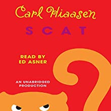 Scat Audiobook by Carl Hiaasen Narrated by Edward Asner