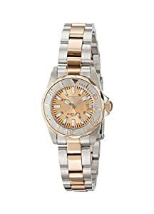 Invicta Women's 7067 Signature Analog Display Swiss Quartz Two Tone Watch