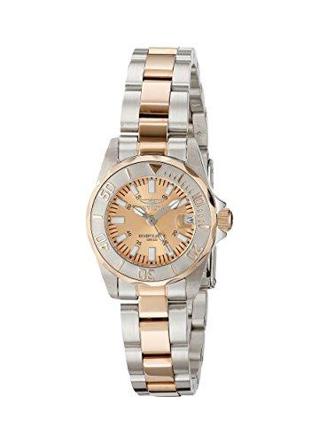 Invicta 7067 27mm Silver Steel Bracelet & Case flame fusion Women's Watch