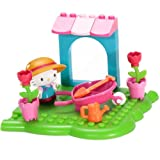 Mega Bloks Hello Kitty Flower Garden