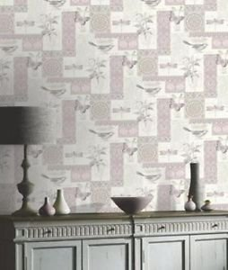 Arthouse Provence Wallpaper - Pink by New A-Brend