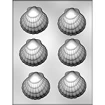 CK Products 2-3/4-Inch Seashell Chocolate Mold