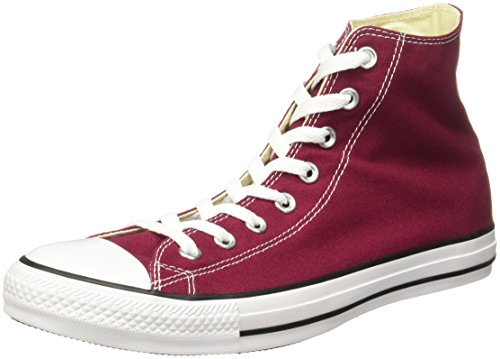 Converse All Star Hi Canvas Sneaker, Unisex Adulto, Bordo (Bordeaux), 37