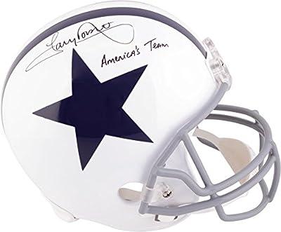 Tony Dorsett Dallas Cowboys Autographed Throwback Replica Helmet with Americas Team Inscription - Fanatics Authentic Certified