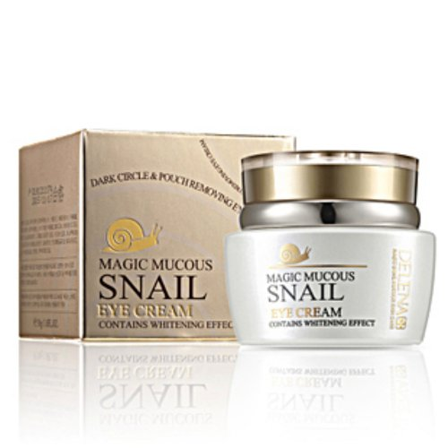 Magic Mucous Snail Eye Cream With Whitening Effect Finelines Dark Circles Eye Bags Firming Moisturizing Eye Skin Moisturizing