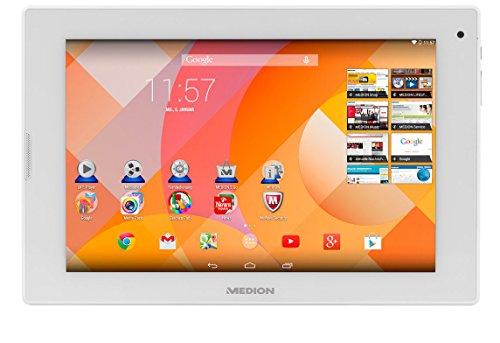 MEDION LIFETAB P8911 (MD 99118) 22,6 cm (8,9 Zoll) Tablet (Full-HD, Intel Atom Z3735F, 1.83GHz, 32GB HDD, 2GB RAM, Android 4.4 KitKat) weiß