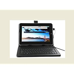 New 7 inch Epad with android 2.2 (tablet pc) includes WiFi 720p Video 256MB Resistive Touch Screen (Requires Stylus) External 3G RJ45 Flash 10.1