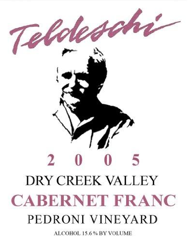 2005 Teldeschi Cabernet Franc, Pedroni Vineyard, Dry Creek Valley 750 Ml