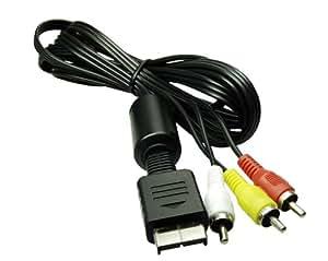 TV AV Kabel für Playstation 1,2 u. 3 PS3 und Slim