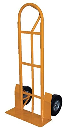 "Vestil Steel Hand Truck with P Handle, Rubber Wheels, 52"" Height"