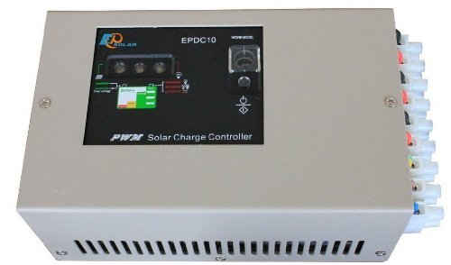 Signswise Eprc-G 60W 24V 10A Hybrid Solar Panel Charger Controller Regulator Battery Power Pv System