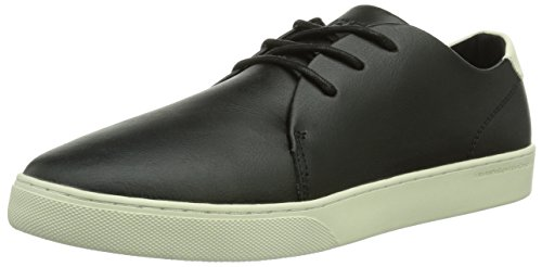 WeSC Delford, Sneaker Uomo, Nero (Schwarz (black/999)), 44,5 (10 uk)