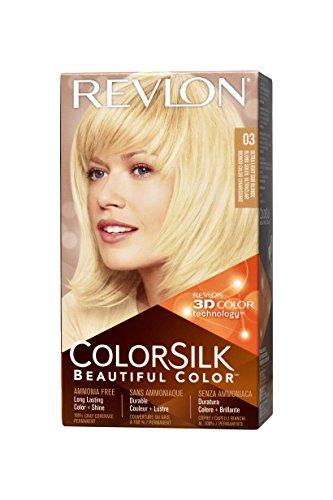 Revlon Tintura per Capelli, Colorsilk Tinte, 200 gr, 3-Rubio Ultra Claro
