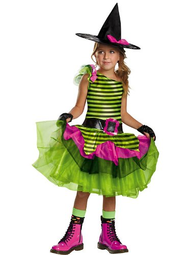 Disguise Tutu'riffic Whimsy Witch Girls Costume