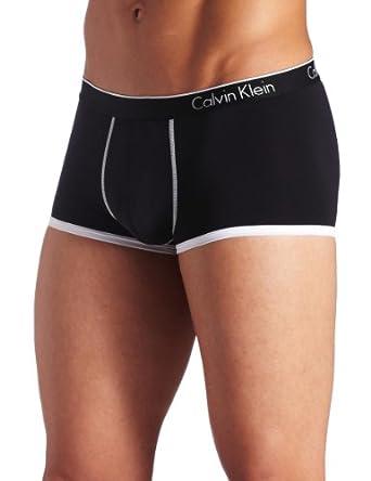 CALVIN KLEIN 男士超细纤维低腰平角内裤,$11.98