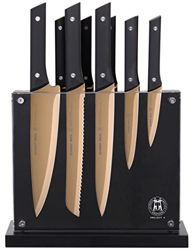 Project X by Schmidt Brothers 12 Piece Hudson Home Group 22 Knife Set, Copper