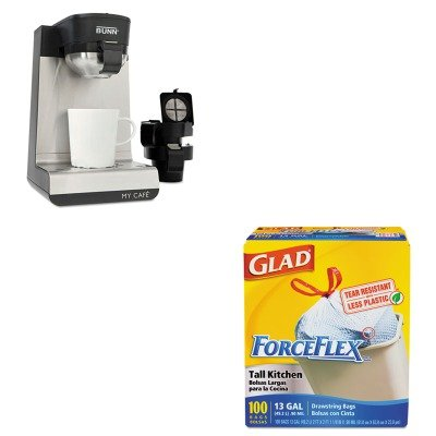 Kitbunmcucox70427 - Value Kit - Bunn Coffee My Cafe Single-Serve Brewers (Bunmcu) And Glad Forceflex Tall-Kitchen Drawstring Bags (Cox70427) front-622789