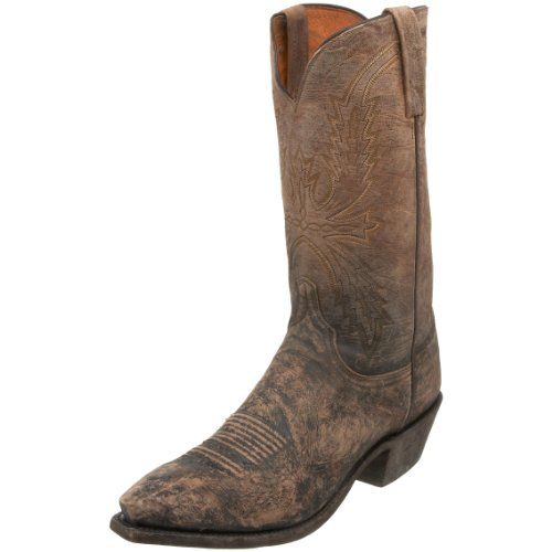 1883 by Lucchese Men's N3547.54 Western Boot,Stonewashed Tan Burnished,7 D US
