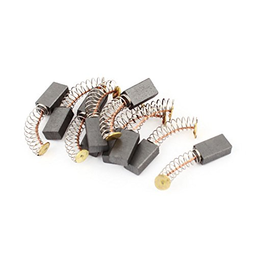 10Pcs 14mmx8mmx5mm Power Tool Electric Motor Carbon Brush Replacement dmiotech 20 pcs electric drill motor carbon brushes 10mm 11mm 13mm 17mm 6mm 7 5mm 7mm 8mm 9mm