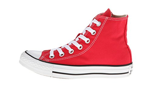 Converse Chuck Taylor All Star High Top Core Colors (10 D(M) US, Red)