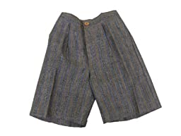 Aby\'s Kids Boys Linen Shorts Multi Color 3 months