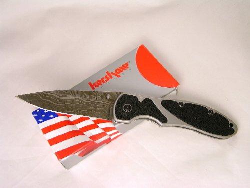 Kershaw Knives Barrage Damascus Blade