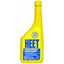 HEET 28201 Gas-Line Antifreeze and Water Remover - 12 Fl oz.